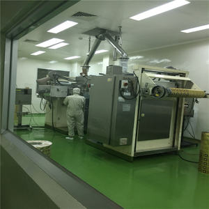 Instant coffee packing machine working for Indonesia customer