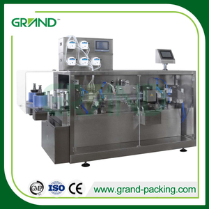 Professional pvc pet pe bottle ampoule liquid form fill seal machine manufacturers