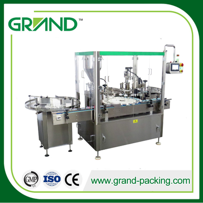 ZHG 50 Automatic Cream Filling And Capping Machine