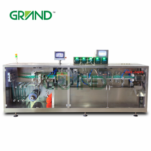 10ml 14ml monodose olive oil capsule filling sealing machinery olive oil capsule packing machine