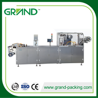 Mini Alu Plastic Liquid Chocolate Automatic Blister Packing Machine For Chocolate Packaging