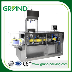 Pesticide/Liquid Fertilizer Automatic Plastic Ampoule/Bottle Forming Filling and Sealing Machine