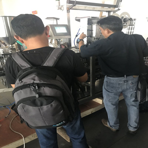 Thailand customer testing automatic blister packing machine for perfume before shippment